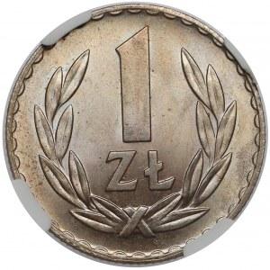 1 złoty 1949 CuNi - piękna