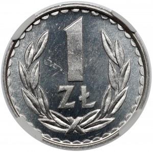 PROOF LIKE 1 złoty 1983 - jak lustrzanka