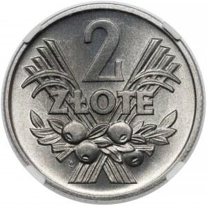 2 złote 1958 Jagody - piękne