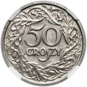 50 groszy 1923 - typ I - PIĘKNE