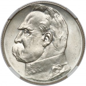 Piłsudski 5 złotych 1934 - urzędowy - PIĘKNY