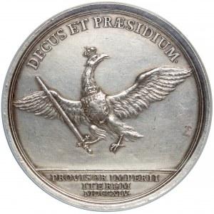 August III Sas, Medal wikrariacki 1745 r., Drezno