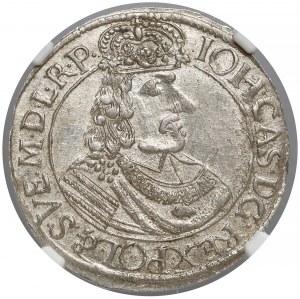 Jan II Kazimierz, Ort Toruń 1665 HDL - menniczy - RZADKI