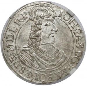 Jan II Kazimierz, Ort Toruń 1664 HDL - piękny