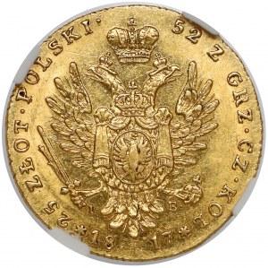 25 złotych polskich 1817 IB - pierwsze - piękne