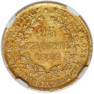 25 złotych polskich 1829 FH - rzadkie