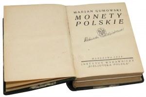 Monety polskie 1924 i Medale polskie 1925, M.Gumowski