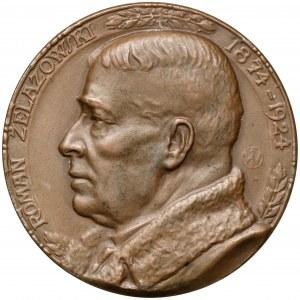 Medal Roman Żelazowski 1924 r. (J.Wysocki) - b.rzadki