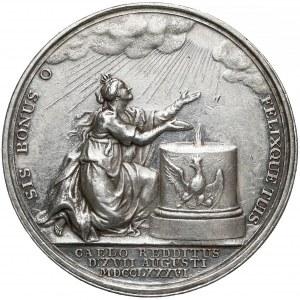 Niemcy, Prusy, Fryderyk Wilhelm II, Medal - śmierć Fryderyka II 1786