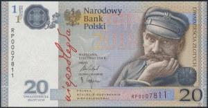 20 złotych 2018 - Niepodległość - w folderze PWPW
