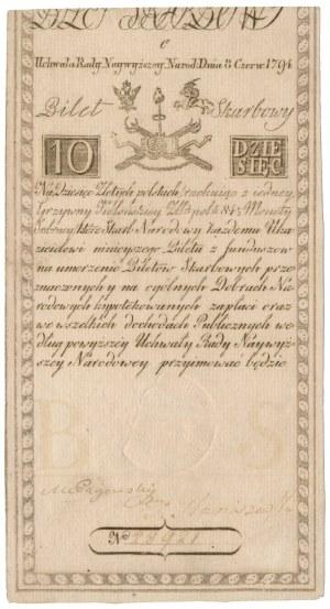 10 złotych 1794 - C - [D] & C BLAUW