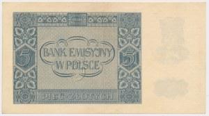 5 złotych 1940 - Ser. A