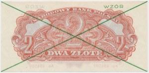 2 złote 1944 ...owym - WZÓR - Ae