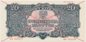 20 złotych 1944 ...owe - WZÓR - KM