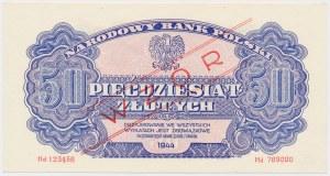 50 złotych 1944 ...owe - WZÓR - Hd