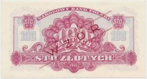 100 złotych 1944 ...owe - WZÓR - Dr