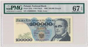 100.000 złotych 1990 - AN