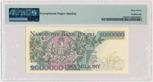 2 mln złotych 1992 - A - z błędem
