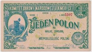 Jeden POLON na Walkę Zbrojną o Niepodległość Polski (1914)