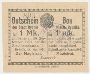 Rybnik, 1 marka 1921