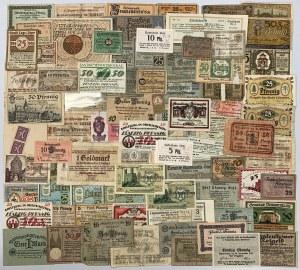Zestaw notgeldów MIX (80szt)
