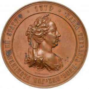 Austria, Franciszek Józef I, Medal nadanie praw miejskich Fiume 1879