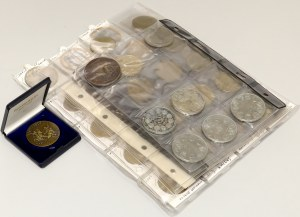 World medals and tokens lot