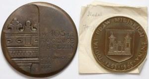 Medale Stanisław Noakowski i Żnin (2szt)