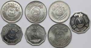 Iraq, Set of coins (7pcs)