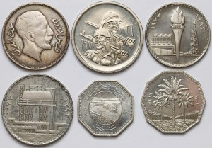 Iraq, Set of coins (6pcs)
