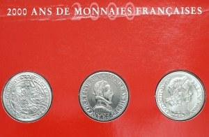 Francja, 5 franków 2000 - historyczne monety Francji