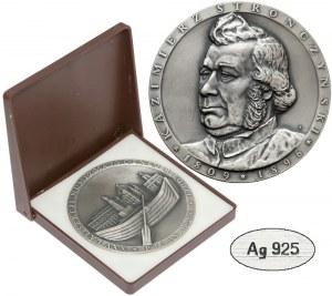 Medal SREBRO Kazimierz Stronczyński 1986 r.