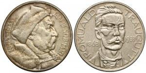 Sobieski i Traugutt 10 złotych 1933 (2szt)