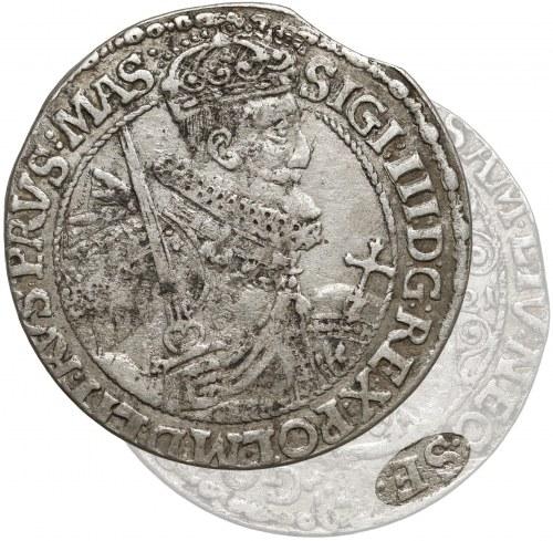 Zygmunt III Waza, Ort Bydgoszcz 1621 - SIGI - z błędem SE