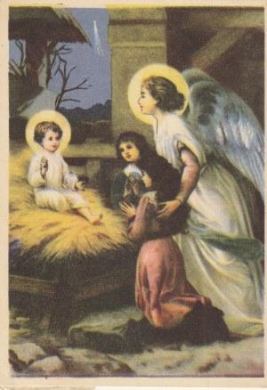 POLSKA. Pocztówka okolicznościowa z okazji świąt Bożego Narodzenia, wyd. Art