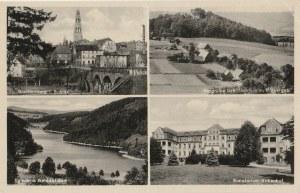 GRYFÓW ŚLĄSKI. Greiffenberg i. Schles, Talsperre Goldentraum