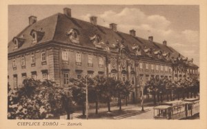 JELENIA GÓRA, CIEPLICE ŚLĄSKIE-ZDRÓJ. CIEPLICE ZDRÓJ / Zamek, wyd. W.Z.G.