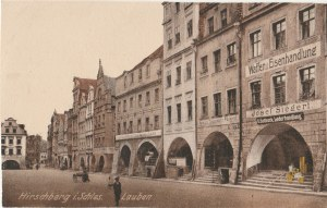 JELENIA GÓRA. Hirschberg i. Schles., wyd. Carl Brinkmann, Breslau, ok. 1925; cz