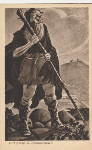 JELENIA GÓRA. Liczyrzepa w Karkonoszach, wyd. W.Z.G., przed 1960; cz.-b.