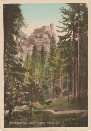 JELENIA GÓRA. Riesengebirge, Burg Kynast, 675 m. ü. M., wyd. Oswald Weißer