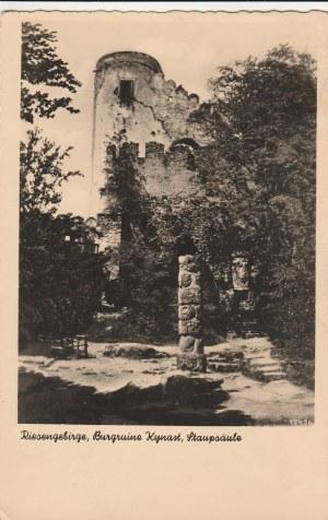 JELENIA GÓRA. Riesengebirge, Burgruine Kynast, Staupsäule;wyd. Walter Staudte