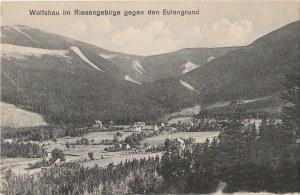 KARPACZ. Wolfshau im Riesengebirge gegen den Eulengrund, wyd. Rübezahl