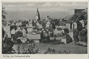 KŁODZKO. Die Berg -und Festungsstadt Glatz, wyd. Photohandlung Marx, Glatz, ok