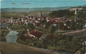 KŁODZKO. Glatz, Gesamtansicht, wyd. ok. 1925; kolor., stan db