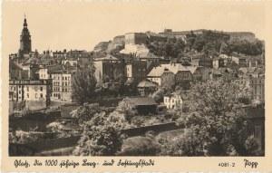 KŁODZKO. Glatz, wyd. Popp, Glatz -Schles., ok. 1941; cz.–b., stan db