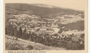 ŚWIERADÓW-ZDRÓJ. Widok na Świeradów Zdrój (Góry Izerskie); wyd. przed 1960; cz.