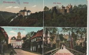 WAŁBRZYCH. Książ; Fürstenstein: Schloß, Alte Burg, Schloß, Eingang, Alte Burg