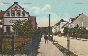 WĘGLINIEC. Kohlfurt, Alte Schule, Schulstrasse, wyd. Gustav Wonneberger