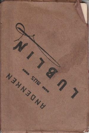 LUBLIN. Andenken aus Lublin, bloczek 12 pocztówek z Lublina, wyd. ok. 1916; cz.