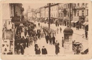 LUBLIN. Leben und Treiben in der Krakauer Straße in Lublin; wyd. Knackstadt, Co